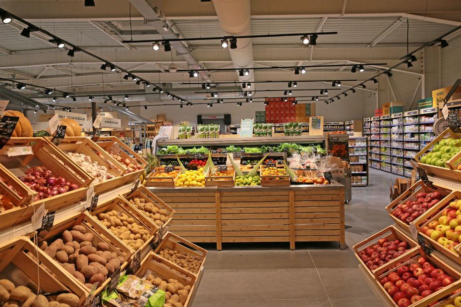 le marché bio_leclerc_grande_distribution_alimentation_biologique_experience_signature_relationnelle