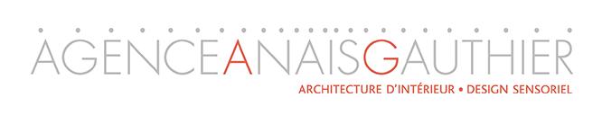 logo agence anais gauthier architecture d interieur design sensoriel